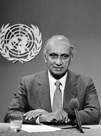 Gamani Corea, Secretary General of UNCTAD (1974-1984)